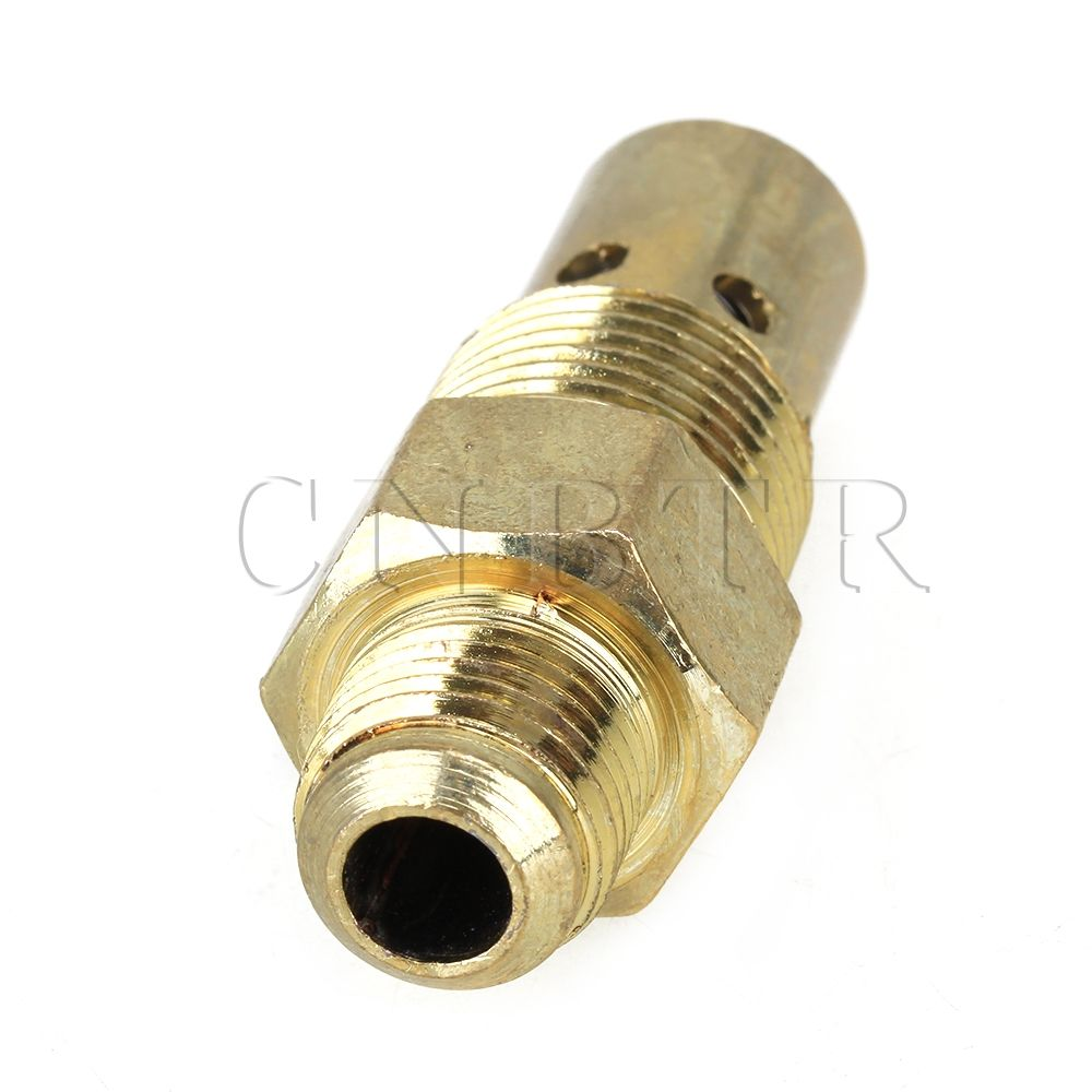 "Brass 3//8/"" Male Threaded NPT X 1//2/"" Air Compressor In Tank Check Valve"