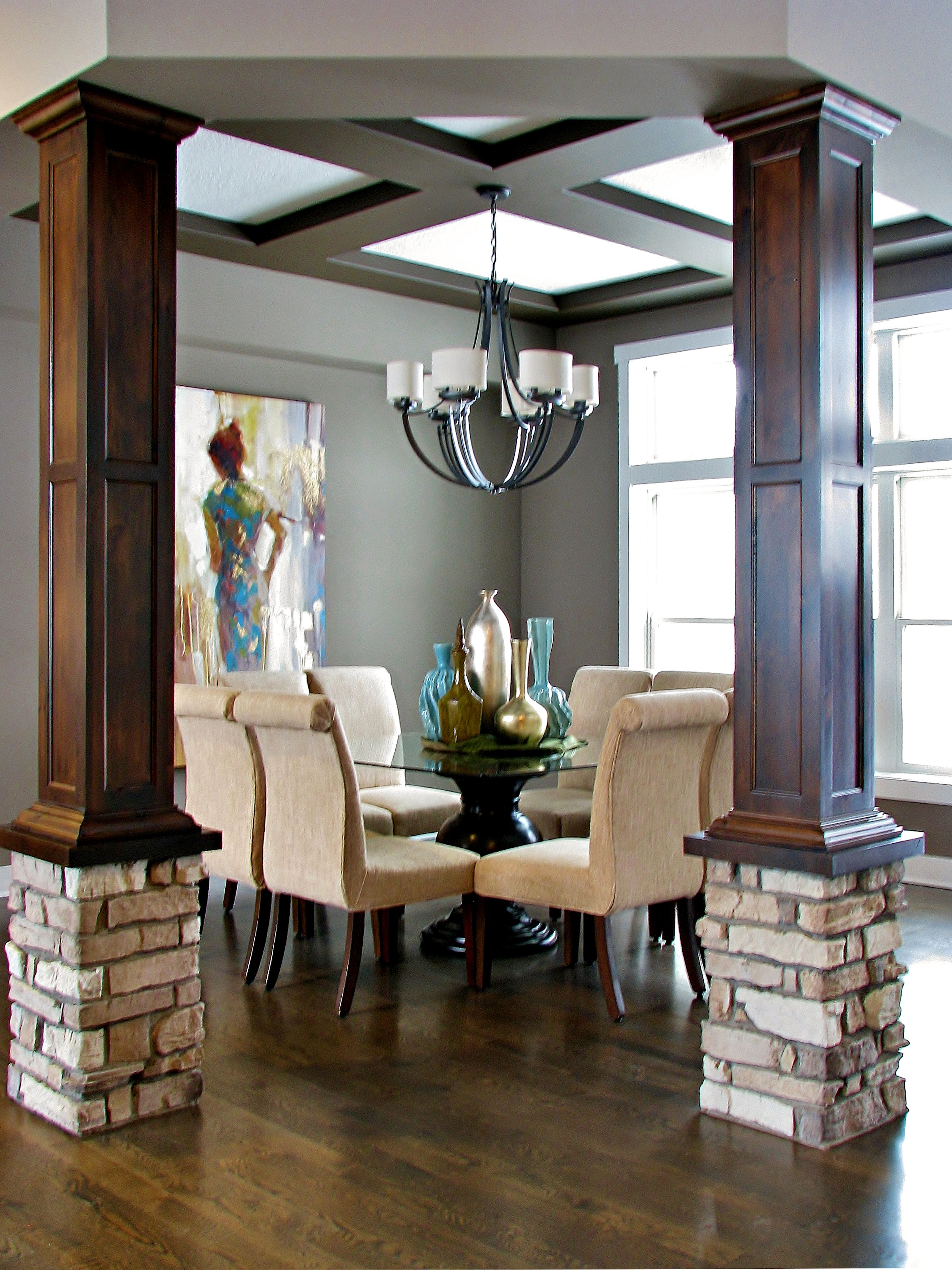 Best Columed Dining Room Made By Lakeside Cabinets And 640 x 480