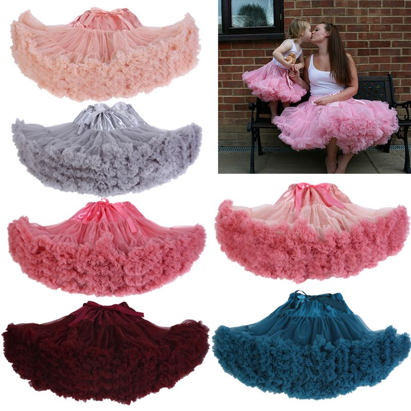 Girl Kids Princess Pleated Fluffy Skirt Pettiskirt Party Dance Tutu Dress In Clothing Shoes Accessories Baby Toddler Girls