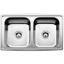 Double Bowl Non Overflow Med Sink Sink Honda Logo
