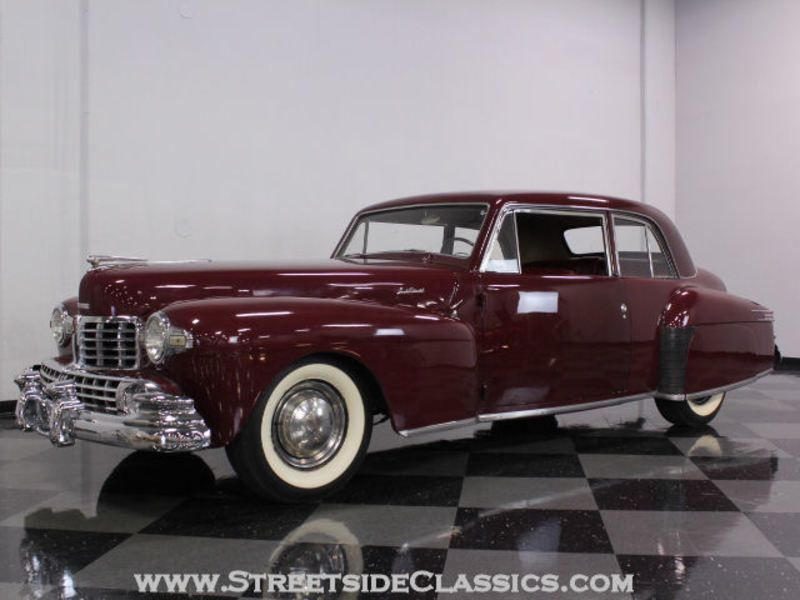 1948 Lincoln Continental for sale - Fort Worth, TX | OldCarOnline ...