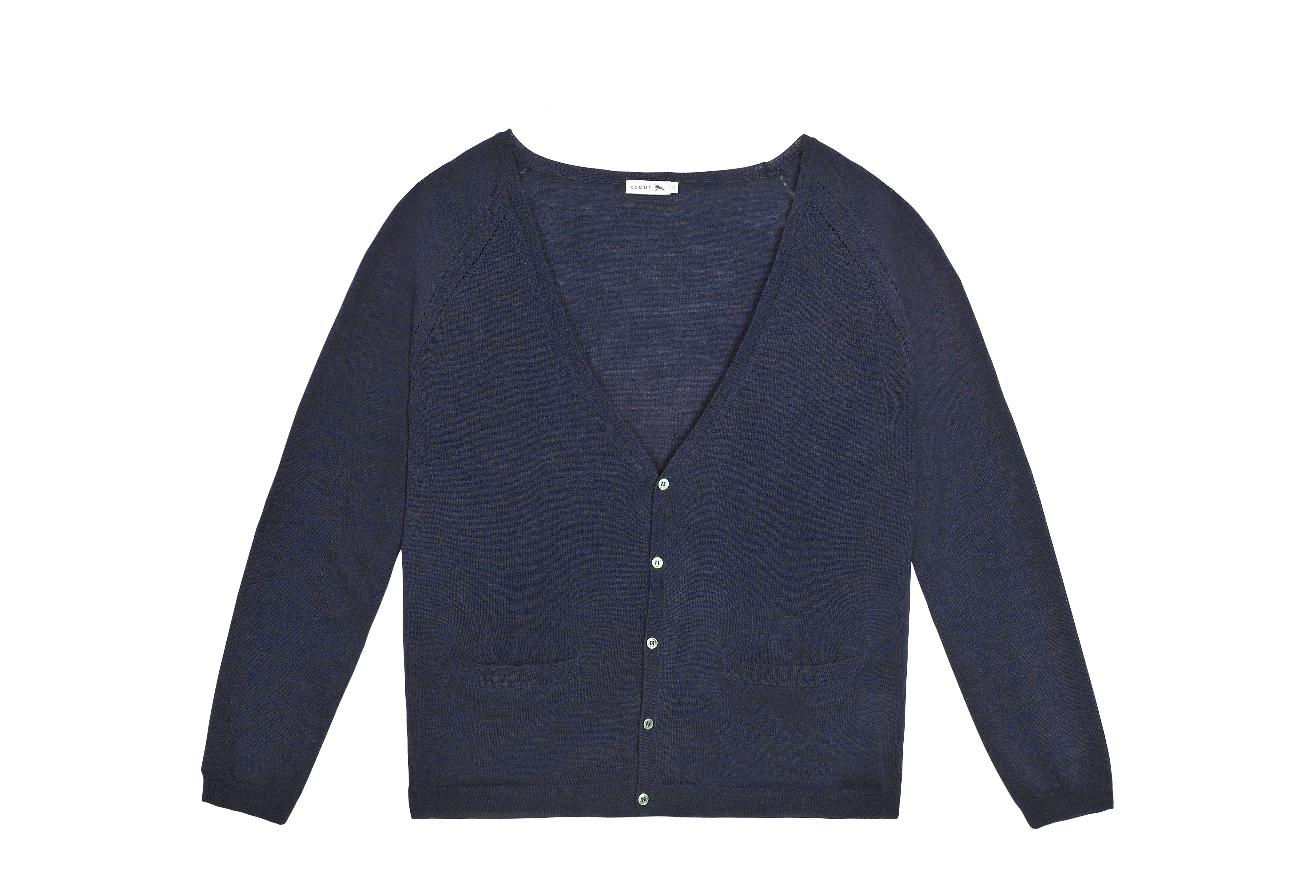 Veste en laine pour femme