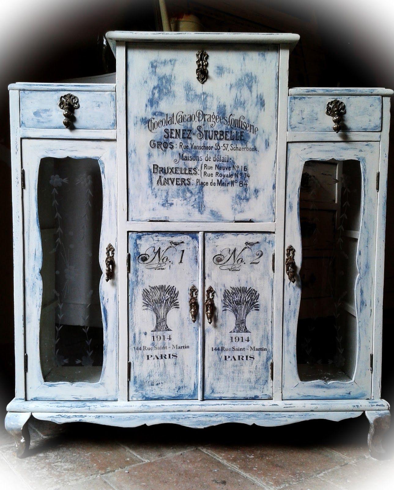 Decoupage Transfer Y Otras T Cnicas Restauraci N De Muebles  # Muebles Kimberly