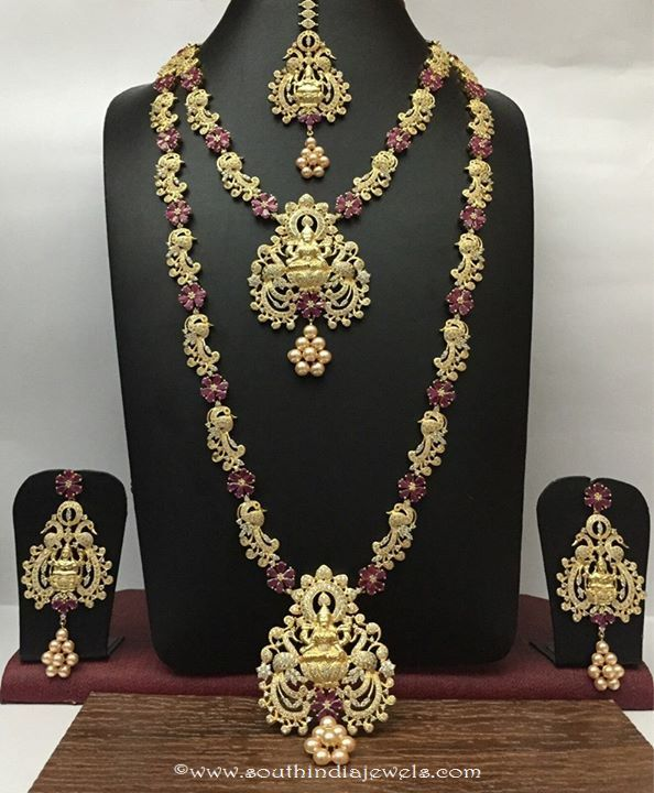 Imitation Bridal Jewellery Ruby Necklace Sets Rs Designs