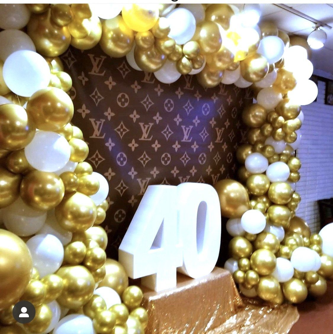 Louis Vuitton inspired Backdrop Step & Repeat Designed