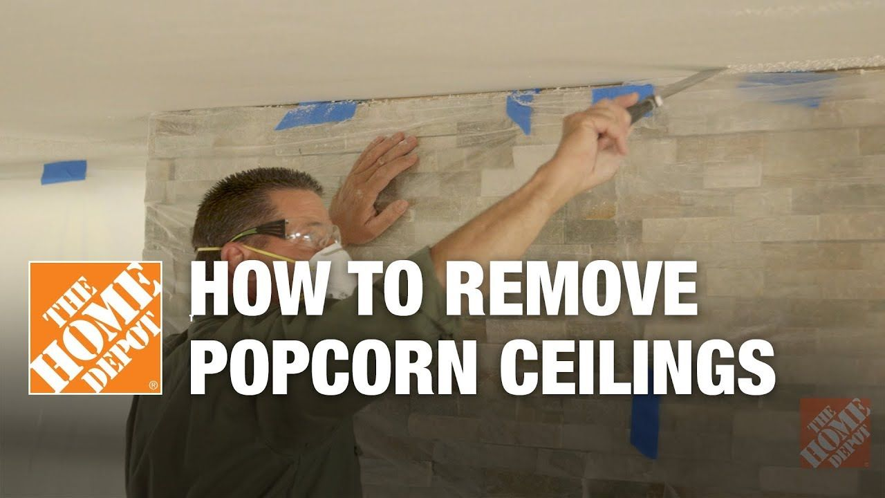 How to Remove Popcorn Ceilings YouTube Popcorn ceiling