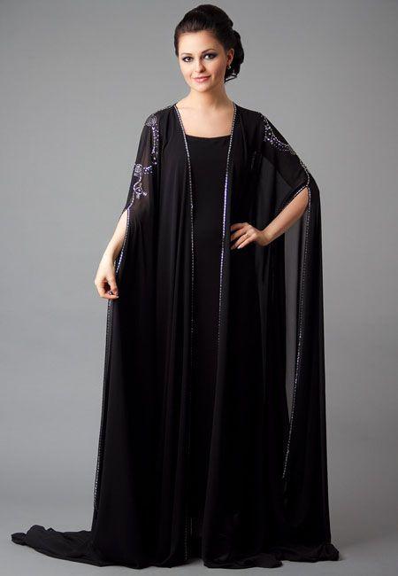 de47677edcdf8 New Stylish Abaya Designs For Girls 2016-2017