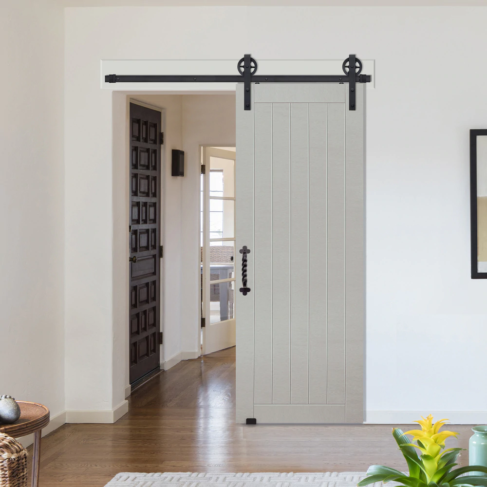 1 Panel Plank Barn Door Single Door Design Barn Style Doors Glass Barn Doors