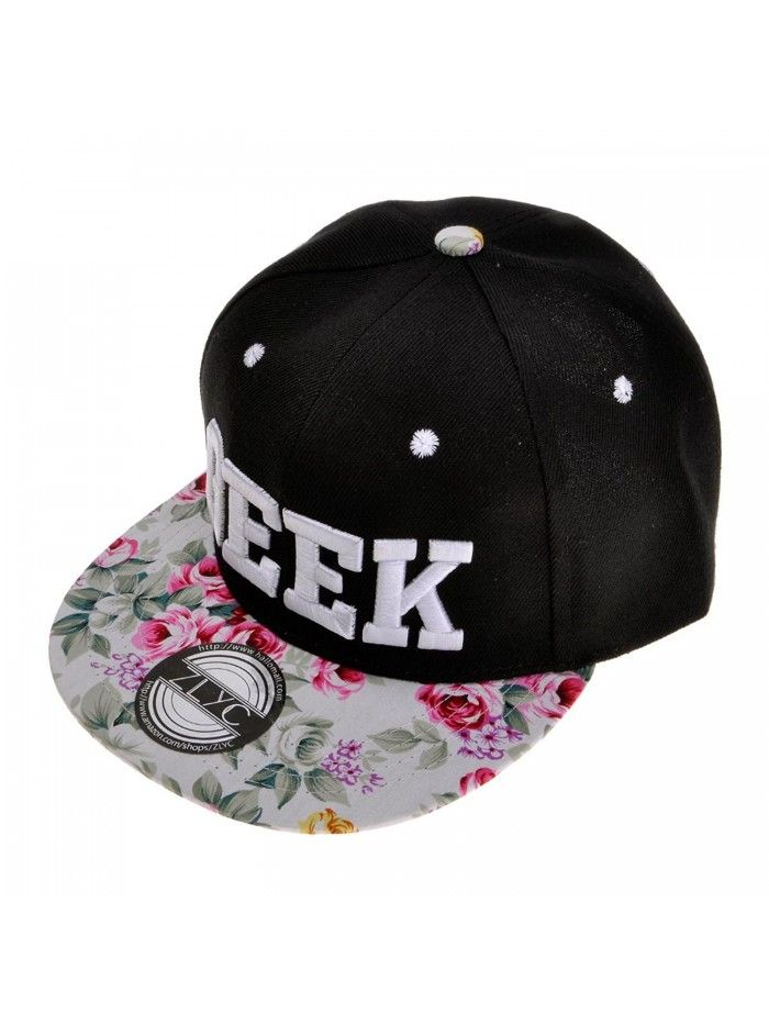 3622830eafc Women Floral Tropical Print Neon Embroidered Word Snapback Baseball ...