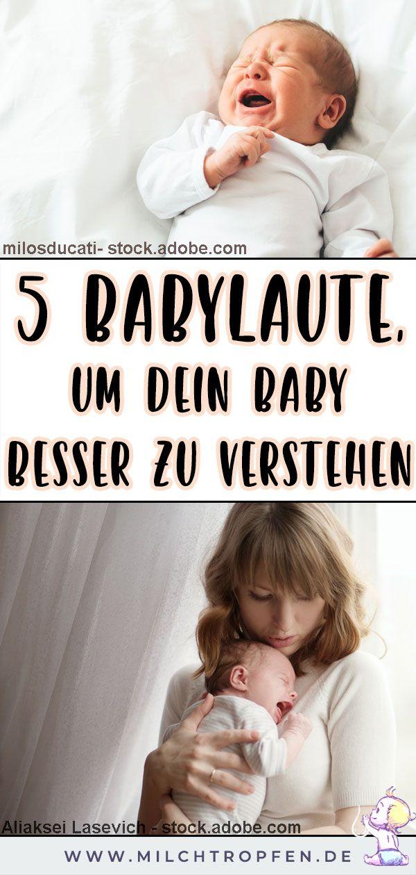 ᐅ Dein Baby schreit? Diese 5 Laute verraten, was es braucht
