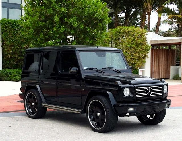 Black Mercedes G Wagon These Babies Will Always E On My Hot List