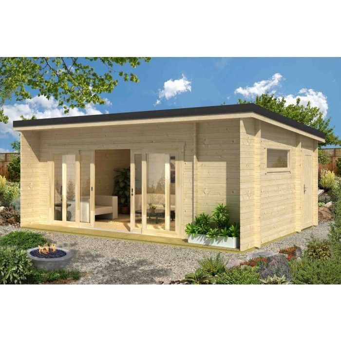 Garten Und Freizeithaus Modell Java Schone Garten Pinterest