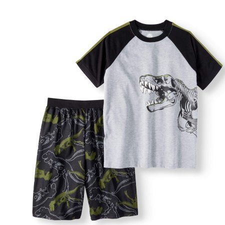 Faded Glory Boys Trousers Tshirt /& Top Set