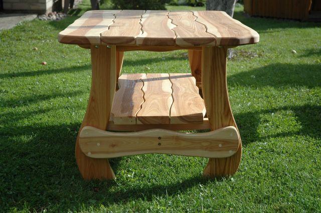 Деревянный стол своими руками на даче фото 564