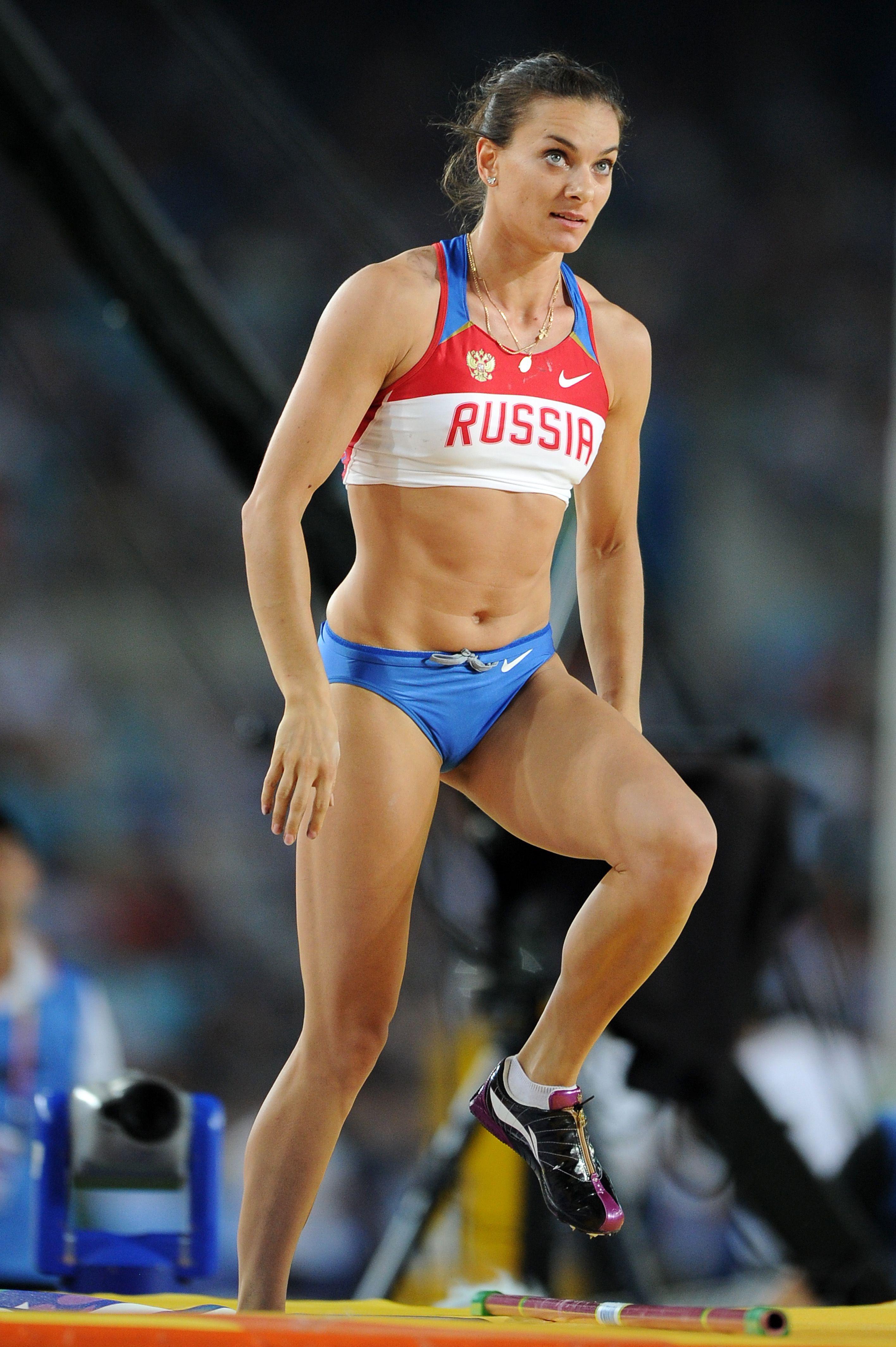Elena Isinbayeva believes that nobody defended her right to speak in Rio 25.07.2016 75