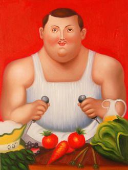 …Fernando Botero…