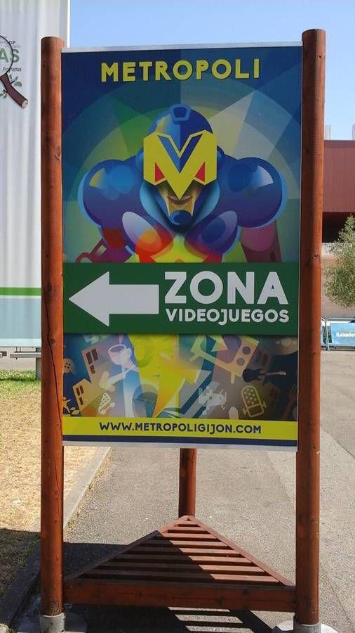 Festival Metrópoli Gijón #videojuegos #videogames