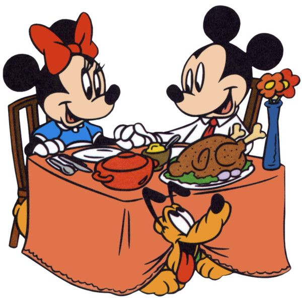 mickey minnie mouse thanksgiving turkey dinner clipart image rh pinterest com turkey dinner clipart images Thanksgiving Turkey Dinner