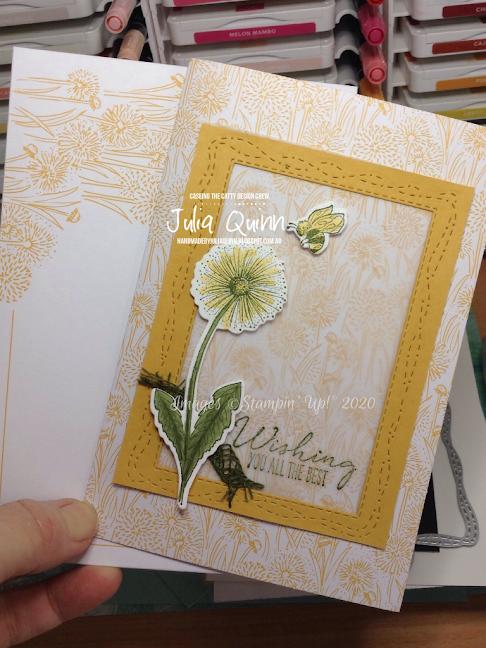 handmade by Julia Quinn - cardmaking and supplies