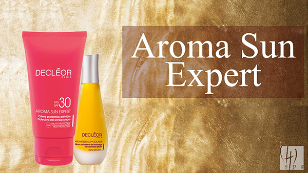No olvides cuidar tu piel protegiéndola del sol.  En Chi Spa te recomendamos la gama AROMA SUN EXPERT de Decléor, tratamientos elaborados con unos activos vegetales específicos que preparan, protegen y calman la piel.