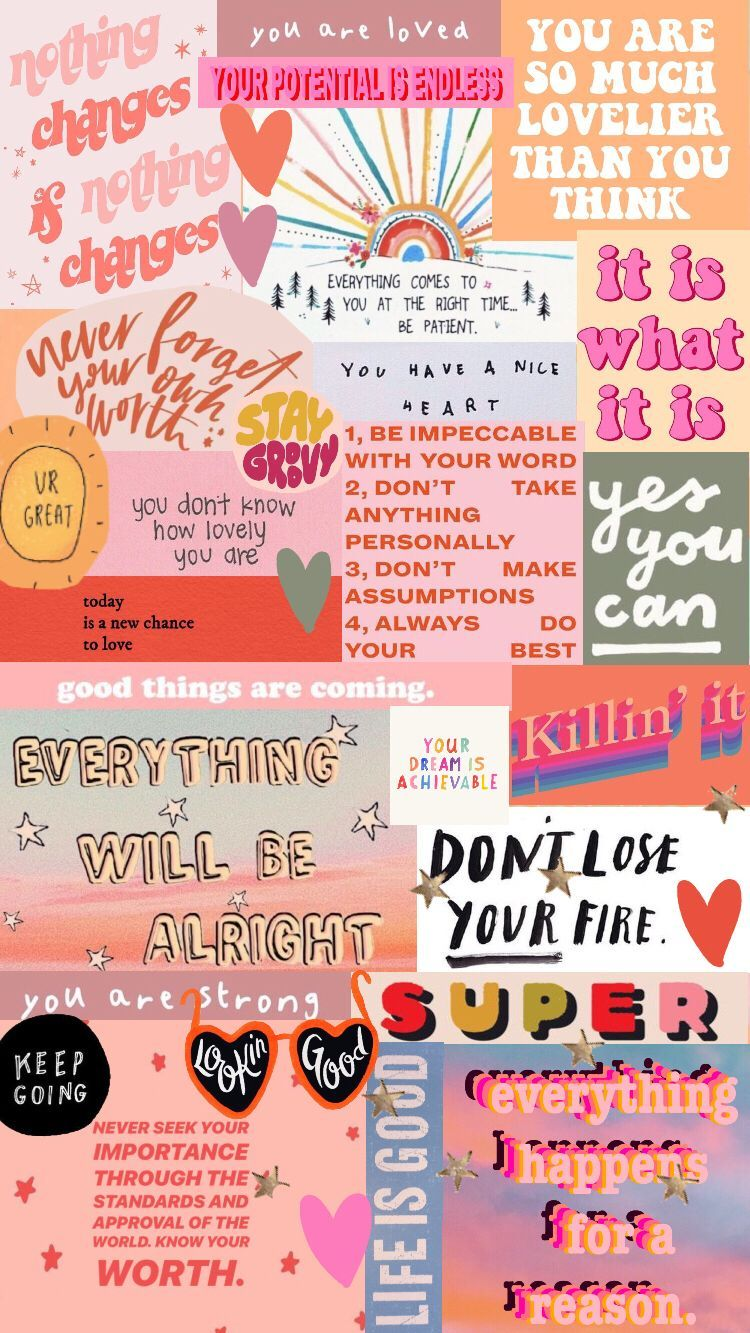 Charming Quote Collage Wallpaper 93 For Quote 8k Wallpaper With