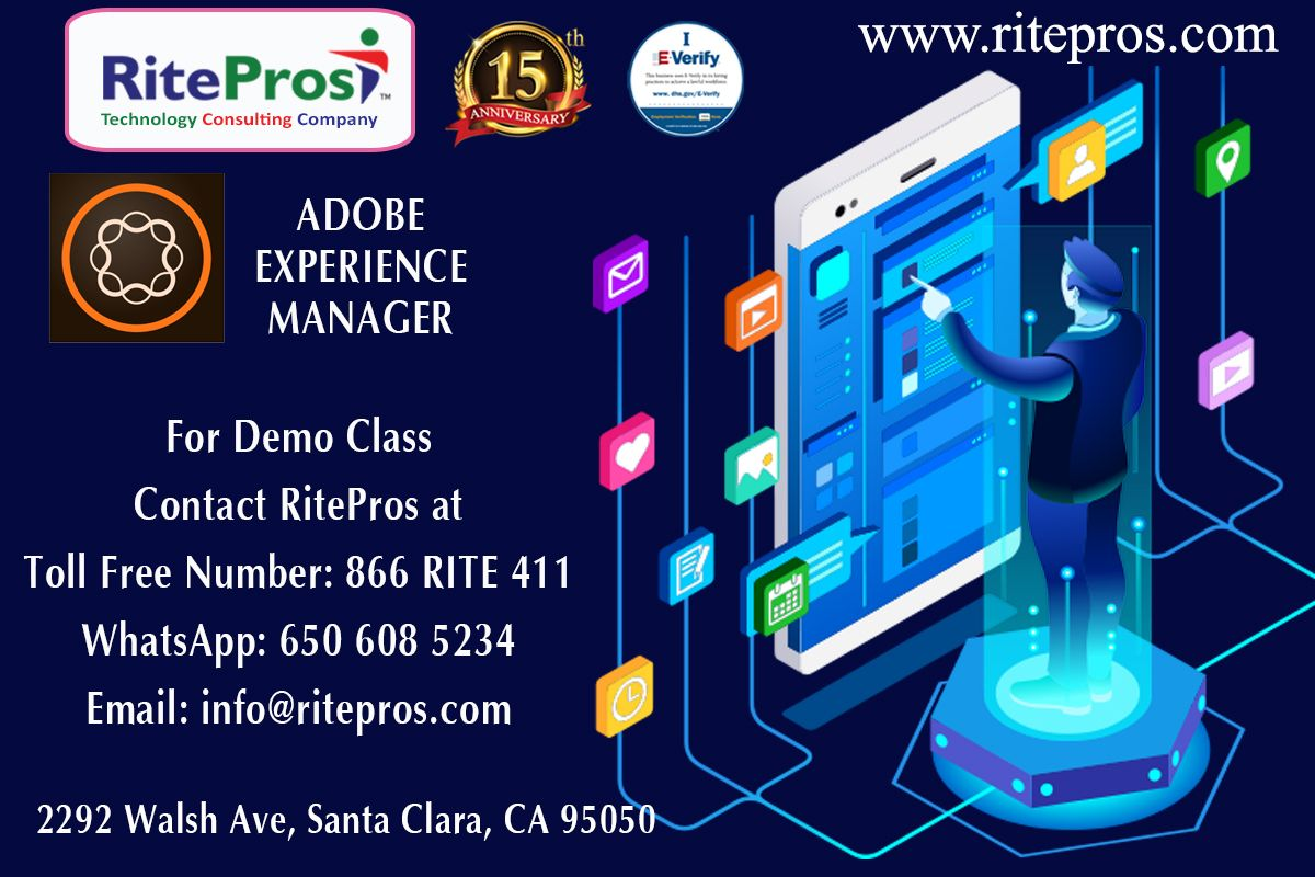 Adobe Experience Manager Aem Rite Pros Santa Clara Ca Technology Consulting Corporate Training Mobile Solutions