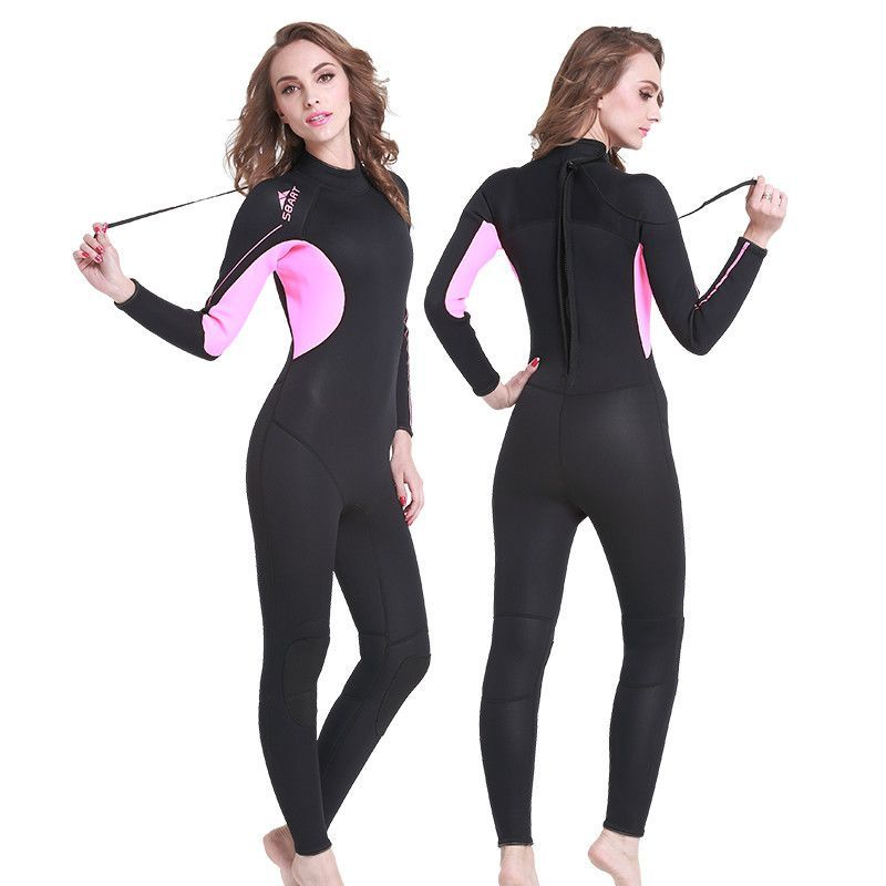 151a28bdad Free Shipping Diving Neoprene Wetsuit For Swimming 3MM Triathlon Scuba  Diving Surfing Wetsuits Spearfishing Wetsuits