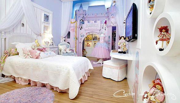 Cintia de queiroz dormitorio de ni a con castillo de - Habitaciones de princesas ...