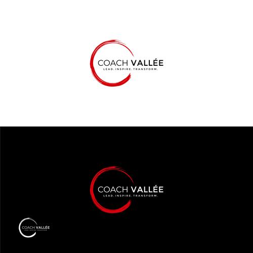 Coach Vallee World S Next Best Motivational Speaker Motivational Speaker I Speak To Corporatio Business Logo Design Best Motivational Speakers Business Logo
