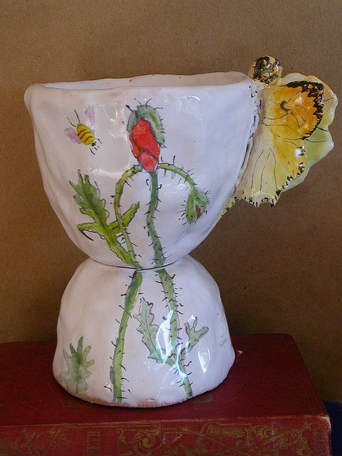 Julie Whitmore Pottery I absolutely love this pottery I would love to have some☺:
