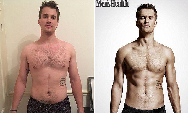 Men's Health editor reveals his incredible new year body | Men