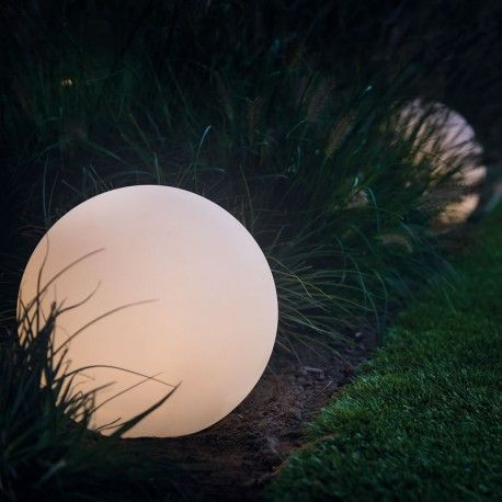 Garden Balls Decorative Round 40  Remote Led Garden Ball Light Multifunction