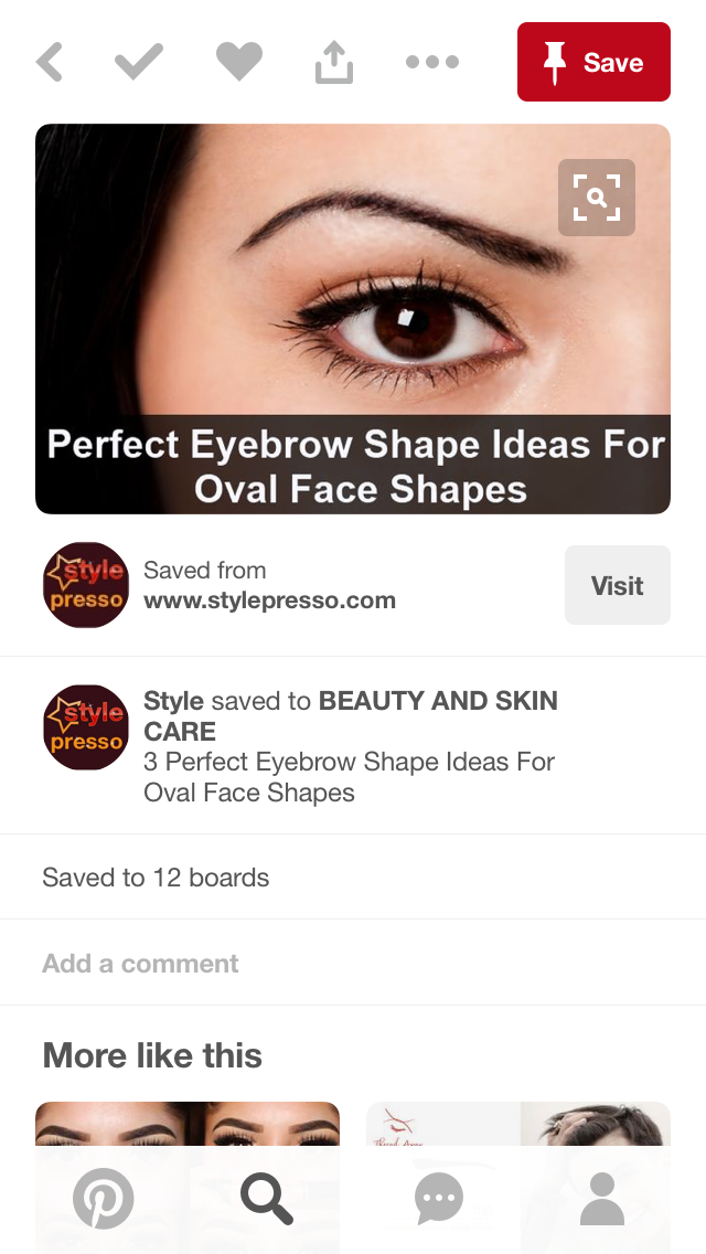 Pin by Kyra Breanne on Eyebrows   Perfect eyebrow shape ...