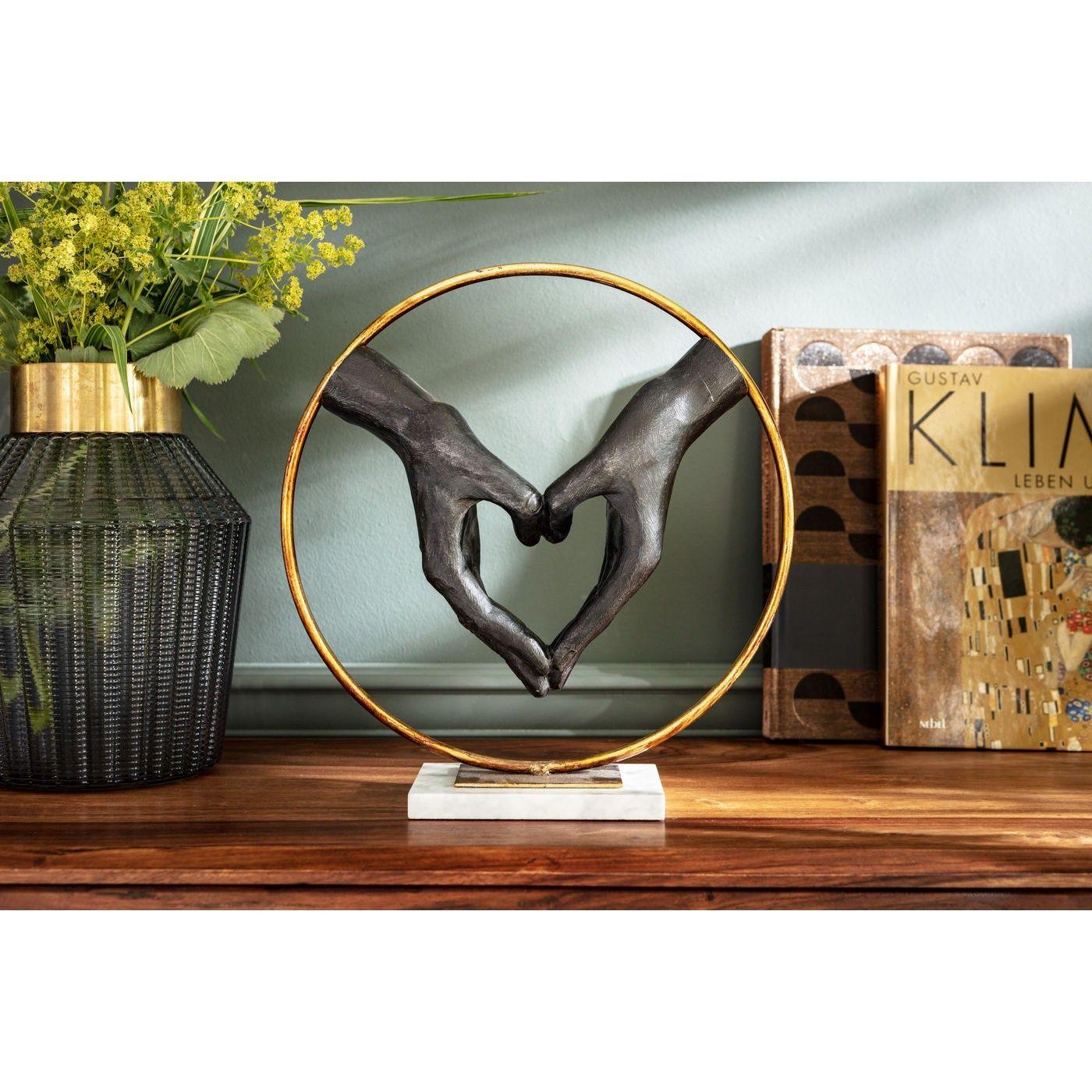 Deko Objekt Elements Heart Hand Accessoires Kare Design Kare