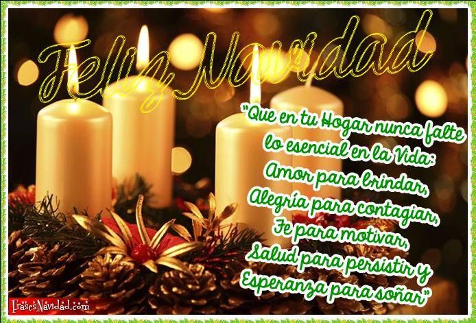 Frases Con Imágenes Hermosas Que Describen La Navidad Y El Año Nuevo Que Puedes Dedicar A Amigo Frases De Navidad Felicitaciones Navidad Feliz Navidad Mensajes