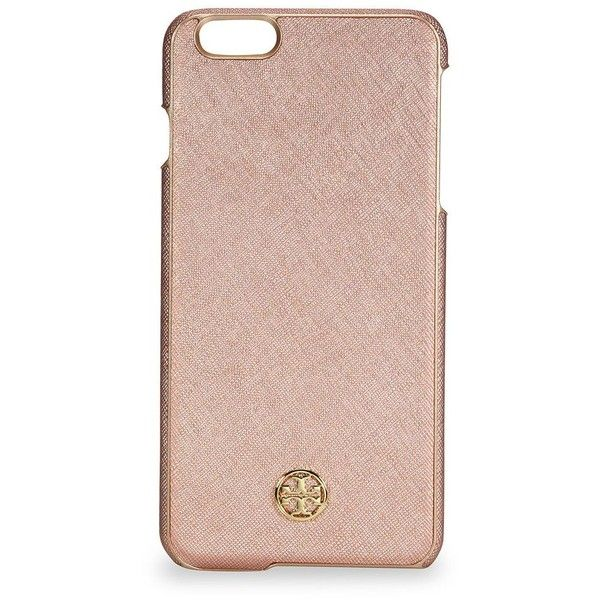 e5d7b8be2 Tory Burch Robinson iPhone 6 Case (£56) ❤ liked on Polyvore featuring  accessories