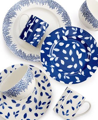 Martha Stewart Collection Stockholm Dinnerware Mix & Match Collection, Only at Macy's - Dinnerware - Dining & Entertaining - Macy's