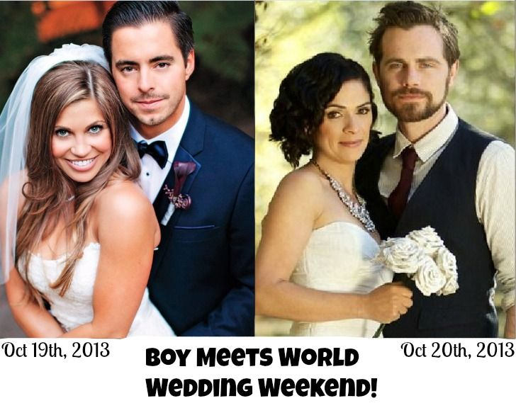 Boy meets world wedding weekend with danielle fishel marrying tim boy meets world wedding weekend with danielle fishel marrying tim belusko and rider strong marrying junglespirit Image collections