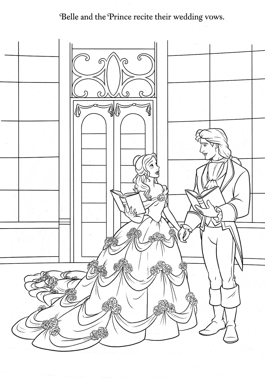 31++ Wedding coloring pages disney ideas