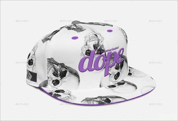 56c1b6804e3 Snapback Cap Mock-up PSD Download the best premium hat