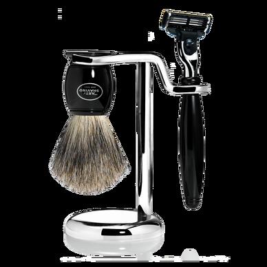 Mach 3 Contemporary Shaving Set - Black