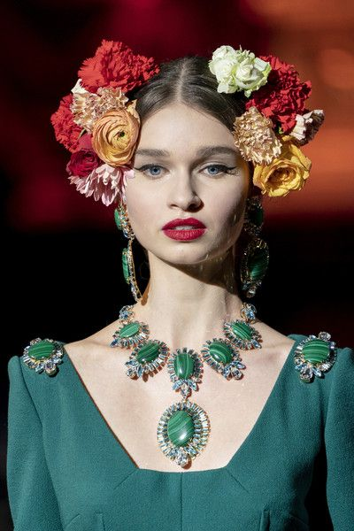 Dolce & Gabbana at Milan Fashion Week Fall 2019