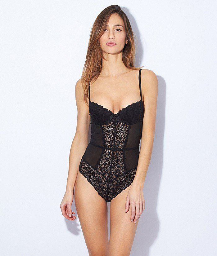 body ampliforme dentelle et tulle parure noir etam underwear pinterest tulle. Black Bedroom Furniture Sets. Home Design Ideas