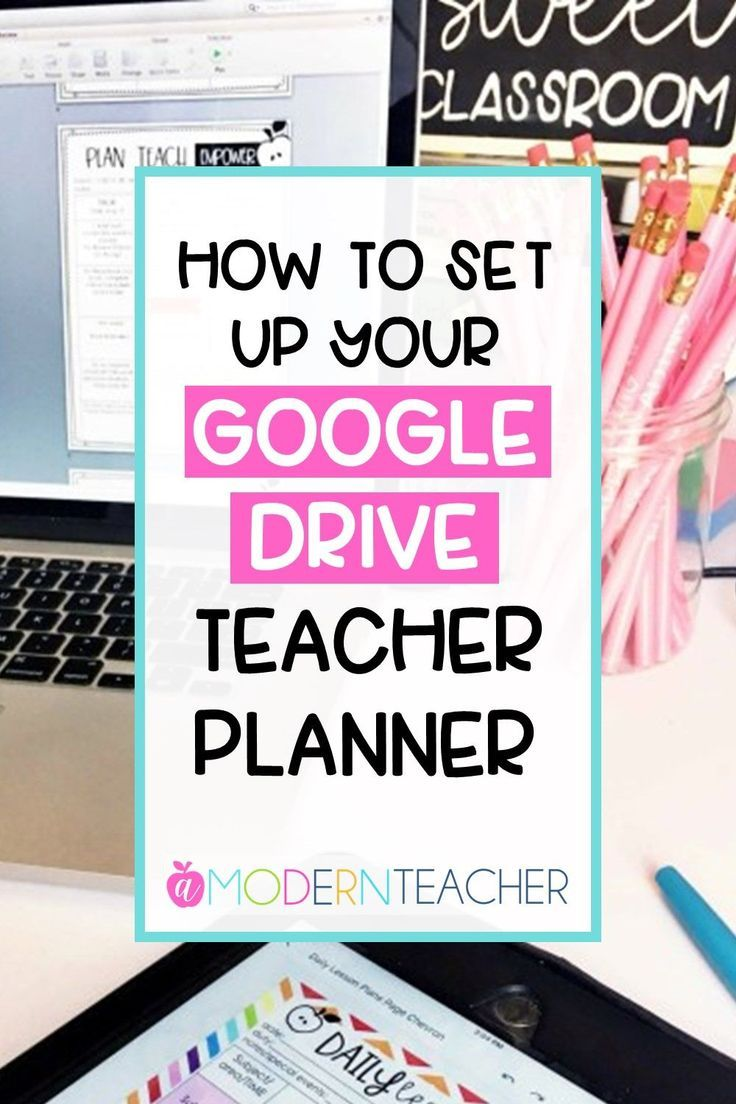 Ready to set up your Google Drive teacher planner? I'll show you how to do it quickly and easily in this short video! #teacherplanner #planner #teaching #googleclassroom #googledrive