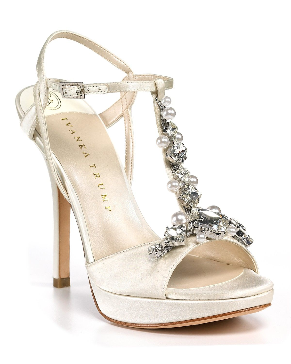 Ivanka Trump Alluvia Evening Sandals Shoes Sandals Bloomingdale S Strappy Wedding Shoes Evening Sandals Evening Shoes