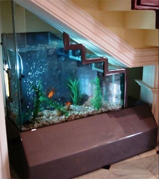 If Itu0027s Hip, Itu0027s Here: No Room For An Aquarium? Think Again. 20 Unusual  Places In Your Home For Fish Tanks.