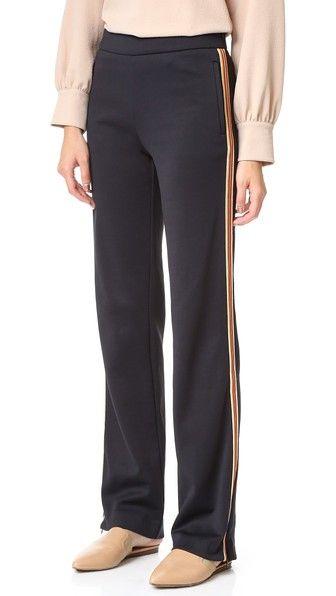 SEE BY CHLOÉ Slouchy Track Pants. #seebychloé #cloth #dress #top #shirt #sweater #skirt #beachwear #activewear