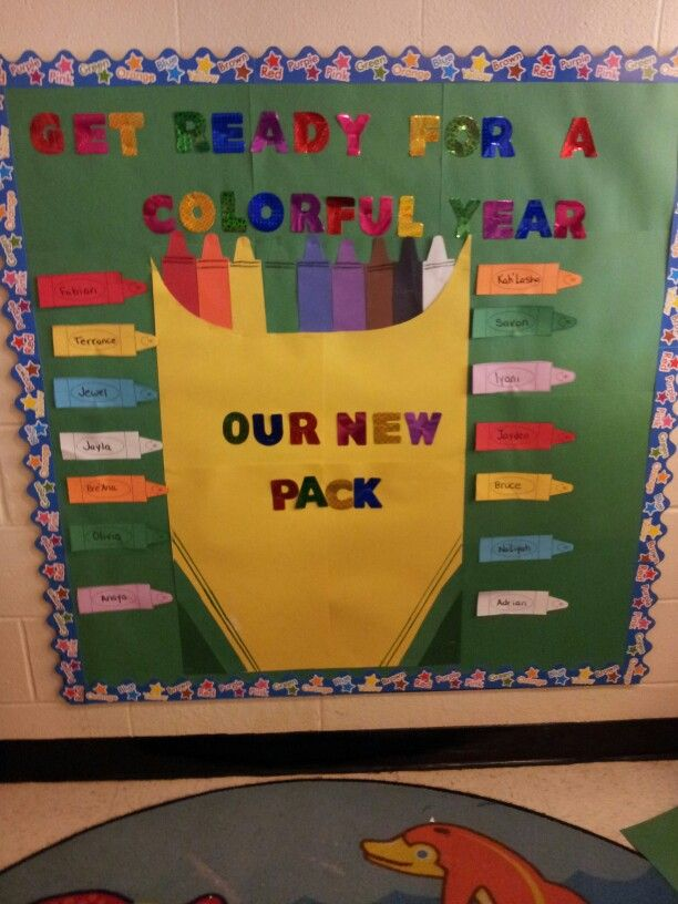 Creative Classroom Decoration For Kindergarten : Back to school bulletin board classroom ideas