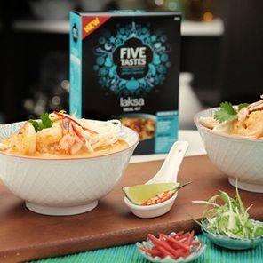 Five Tastes Delicate Laksa Soup