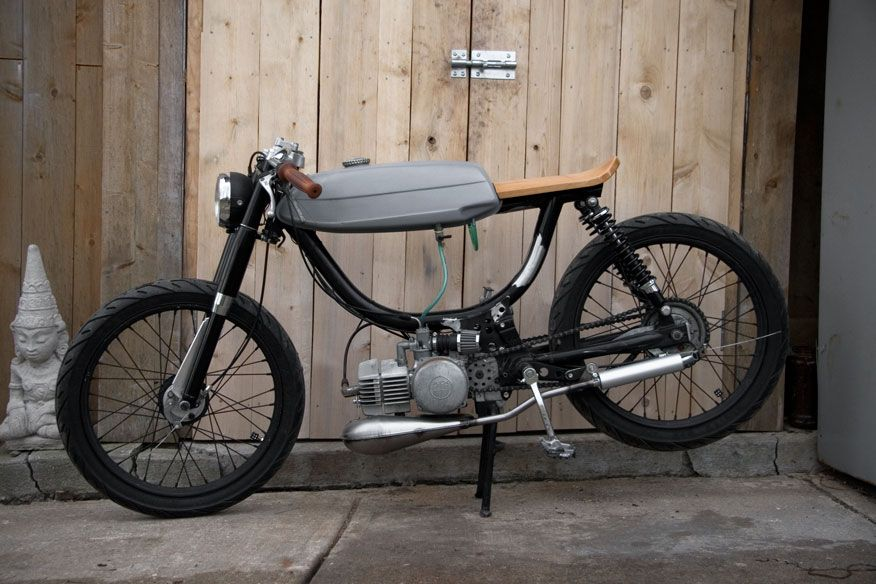 puch cafe racer moped puch magnum mofa motorrad und. Black Bedroom Furniture Sets. Home Design Ideas
